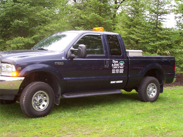 Tree Care Pickup Truck